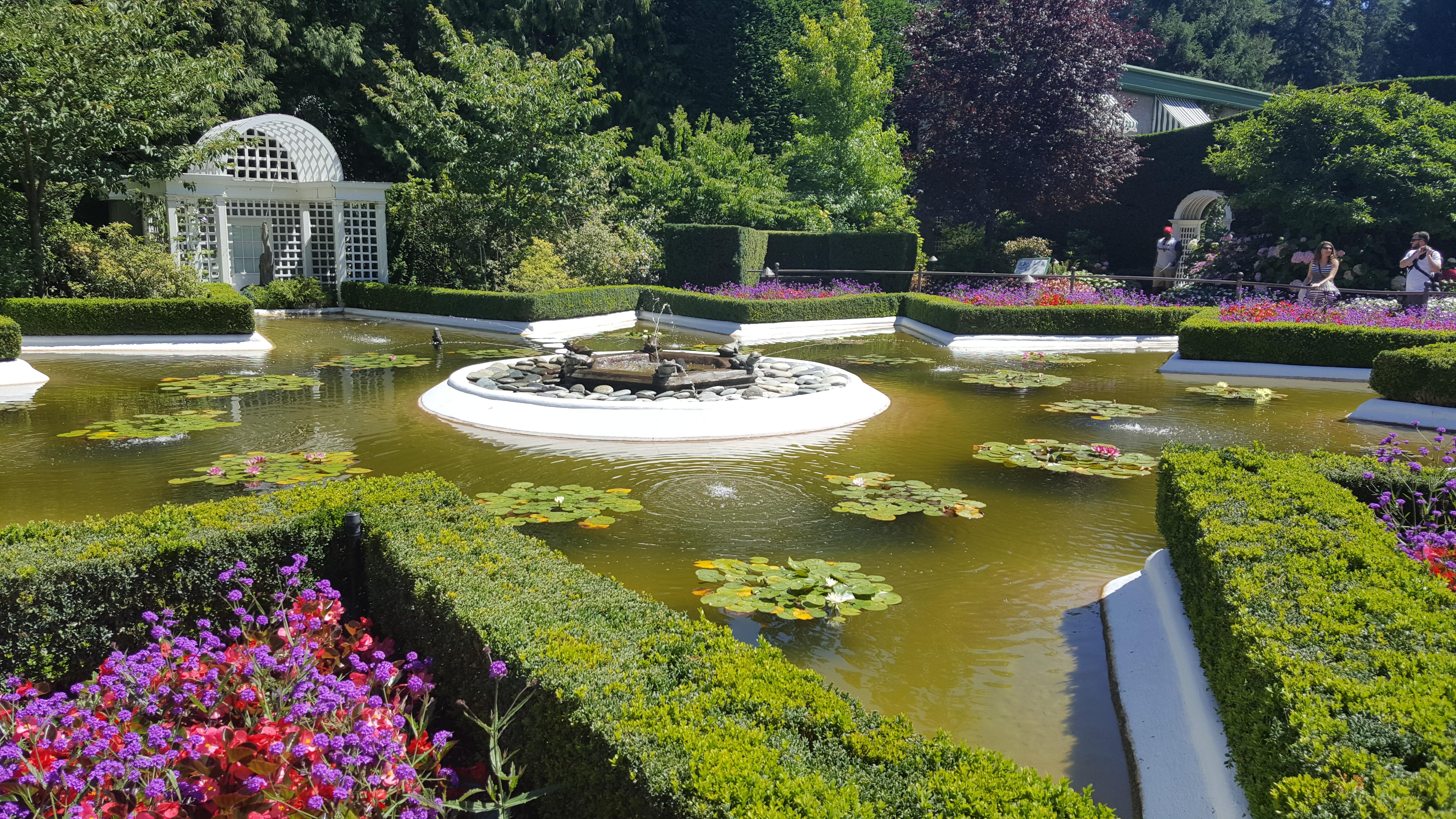 The Butchart Gardens Victoria Island B C Canada Seattle English Inc